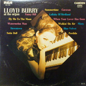 Burry  lloyd  at the organ front