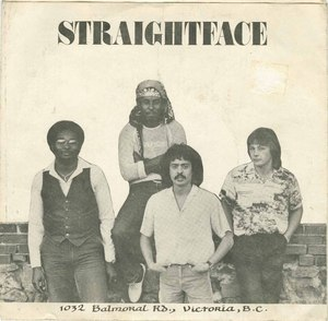 45 straightface six o clock pic sleeve front