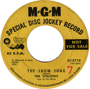 The willows the snow song mgm