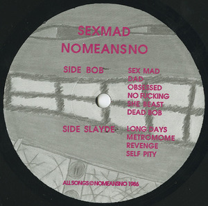 Nomeansno sex mad label 01