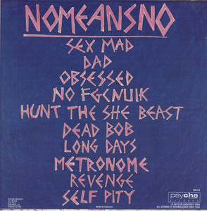 Nomeansno sex mad back