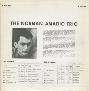 Norman ammadio trio  st ctl back