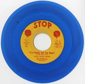 45 jackie shane i've really got the blues stop m 5035