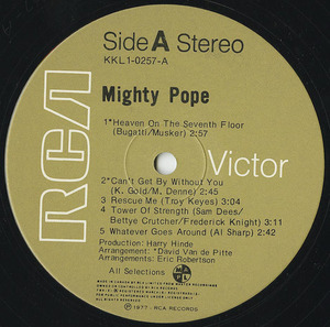Mighty pope st label 01