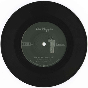 45 the hippies nuclear disaster vinyl 01