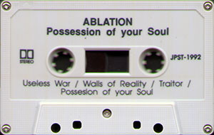 Ablation   possession of your soul cassette cassette