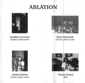 Ablation   possession of your soul cassette back