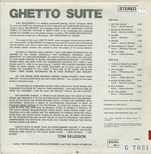 Galt macdermot   ghetto suite back