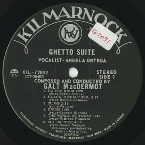 Galt macdermot   ghetto suite label 01