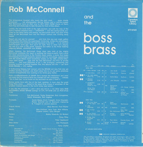 Rob mcconnell and the boss brass   on a cool day back