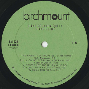 Diane leigh country queen label 01