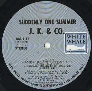 J. k.    co.   suddenly one summer label 02