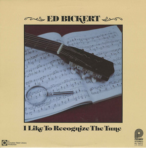 Ed bickert i'd like to recognize the tune front