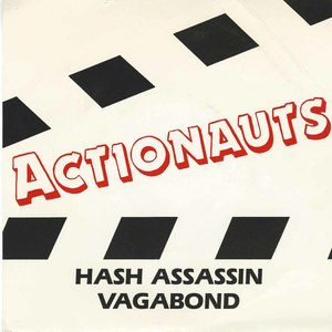 45 actionauts hash assassin pic sleeve