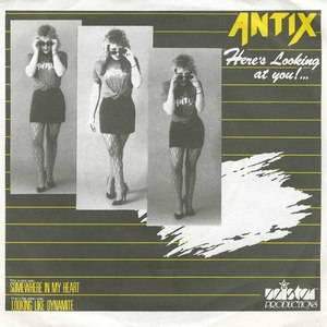 45 antix somewhere in my heart pic sleeve