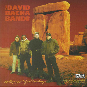 Cd david bacha band   no sleep until after stonehenge front