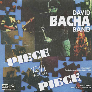 Cd david bacha band   piece by piece front