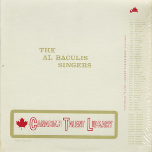 Al baculis singers ctl 5084 front