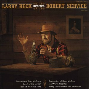Larry beck   recites robert service front