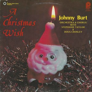 Johnny burt a christmas wish front