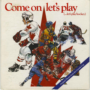 45 come on let's play hockey canada cup 1976 english front
