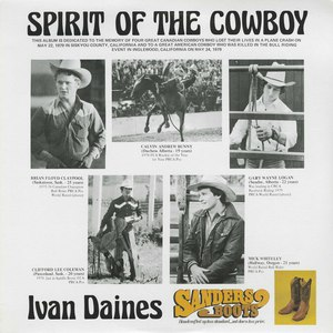Ivan daines spirit of the cowboy