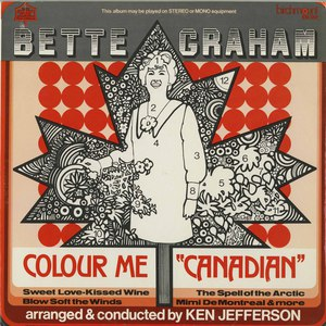 Bette graham colour me canadian front