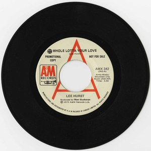45 lee hurst whole lotta your love