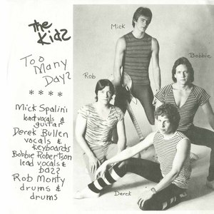 45 kids too many days pic sleeve front