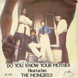 45 mongrels do you know your mother pic sleeve front
