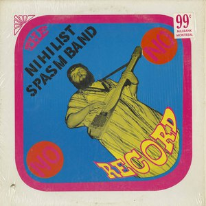Nihilist spasm band no record front