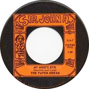 The paper dream my minds eye sir john a