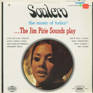 Jim pirie   soulero the music of today %28capitol  cbc sn 6228%29 front