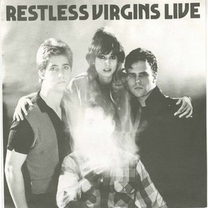 45 restless virgins live pic sleeve front