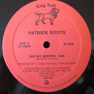 Patrick roots   jah is my keeper