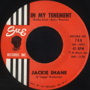 Jackie shane in my tenement sue records