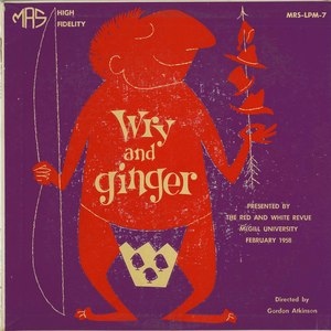 Soundtrack   wry and ginger front