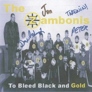 Cd zambonis to bleed black and gold front
