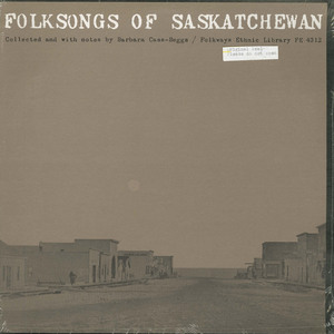 Va folk songs of saskatchewan front