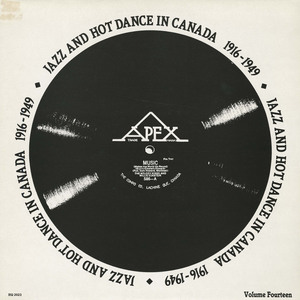 Compilation   jazz and hot dance in canada 1916 1949 front