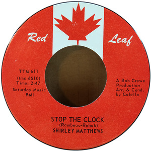 45 shirley matthews   stop the clock %28red leaf%29