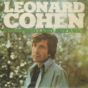 45 leonard cohen suzanne the partisan spain ps
