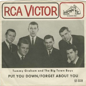 45 tommy graham and the big town boys put you down pic sleeves