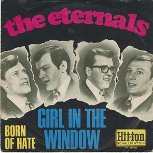 45 eternals girl in the window pic sleeve germany front