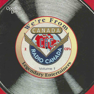 Cd we're from canada front