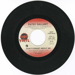 45 patsy gallant dont forget about me
