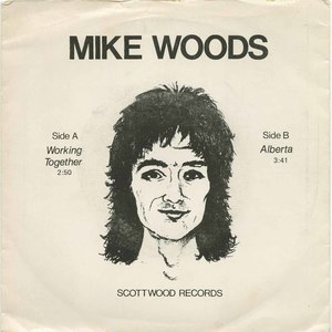 45 mike woods working together pic sleeve front