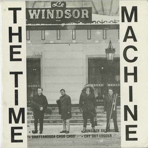 45 time machine pic sleeve front