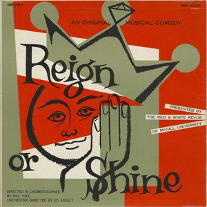 Soundtrack   reign or shine front
