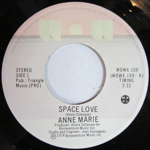 45 anne marie space love